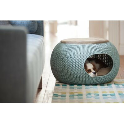 Knit Cozy Pet Home Color: Blue