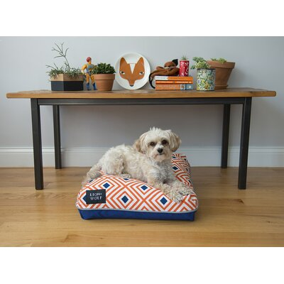 Geo Replacement Pet Bed Cover Size: Small (27 L x 21 W), Color: Creamsicle