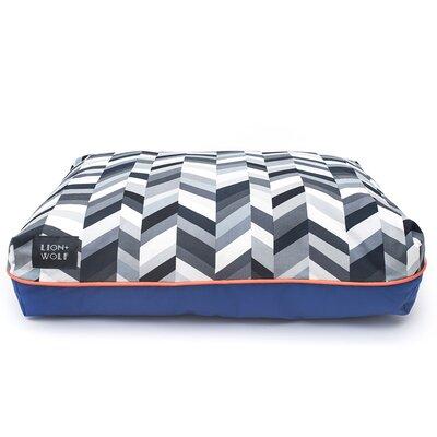 Geo Chevron Cat Bed Color: Salt/Pepper