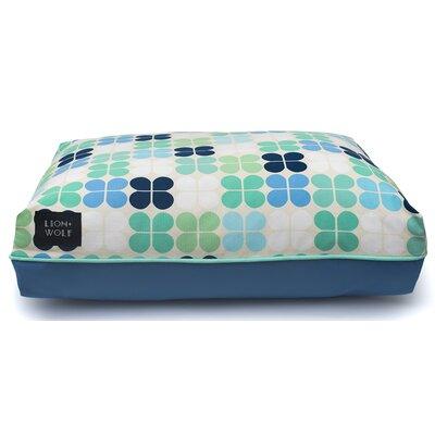 Geo Petal Cat Bed Color: Mint