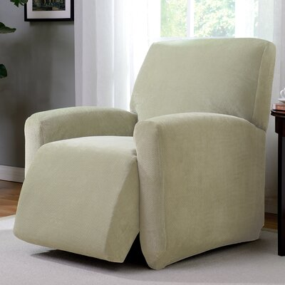 Day Break Polyester Recliner Slipcover Upholstery: Cream