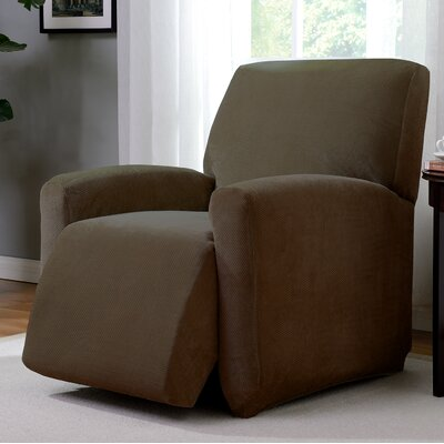 Day Break Polyester Recliner Slipcover Upholstery: Chestnut
