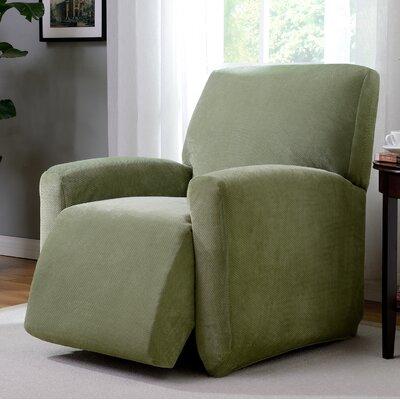 Day Break Polyester Recliner Slipcover Upholstery: Moss