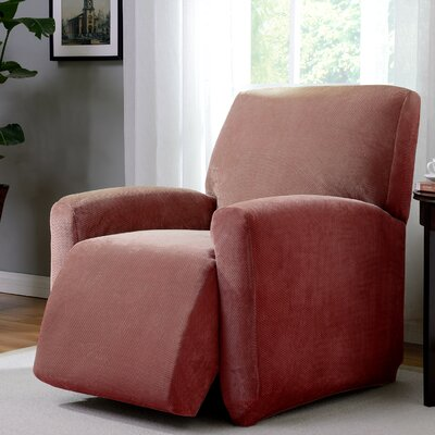 Day Break Polyester Recliner Slipcover Upholstery: Paprika