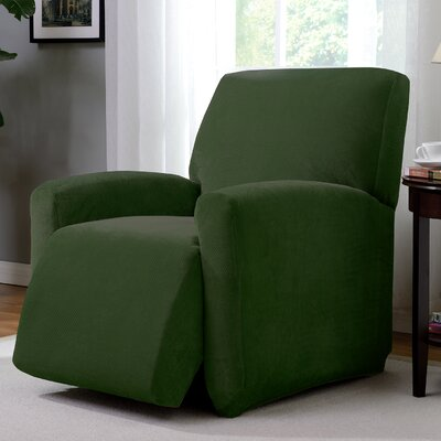 Day Break Polyester Recliner Slipcover Upholstery: Forest