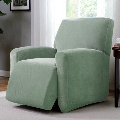 Day Break Polyester Recliner Slipcover Upholstery: Seaglass