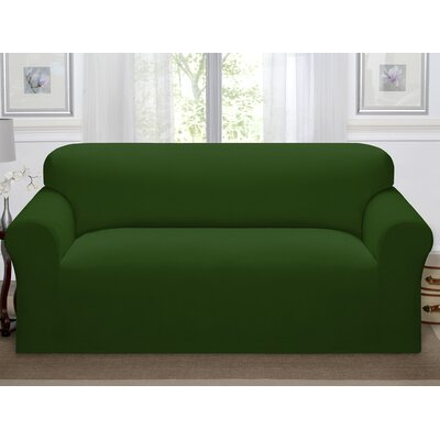 Day Break Polyester Sofa Slipcover Upholstery: Forest