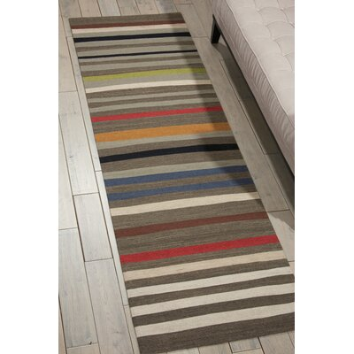 Griot Handmade Poppy Seed Area Rug Rug Size: Rectangle 53 x 75