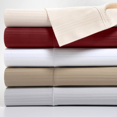 Ellesmere 4 Piece 400 Thread Count 100% Cotton Sheet Set Size: Queen