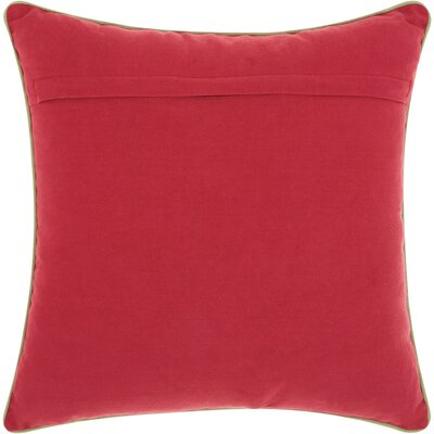 Corydon Square Cotton Throw Pillow