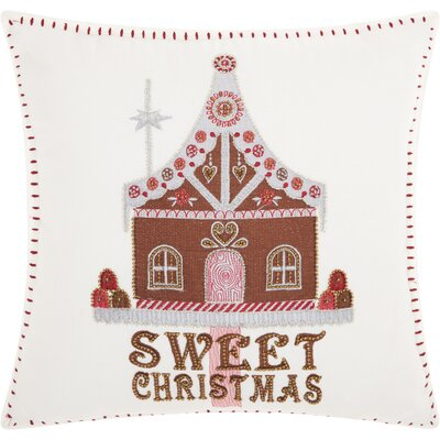 Hodnett Square Cotton Throw Pillow