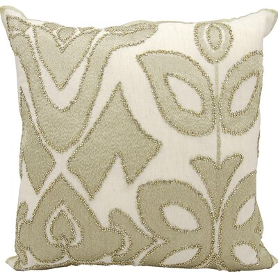 Ravenna Cotton Throw Pillow Color: Gold