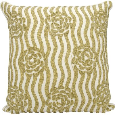 Kathy Ireland Throw Pillow Color: Gold
