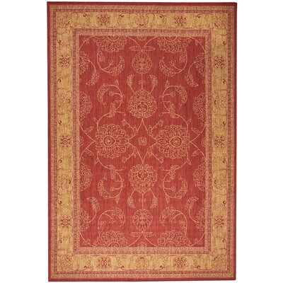 Ahoghill Red Area Rug Rug Size: Rectangle 79 x 11