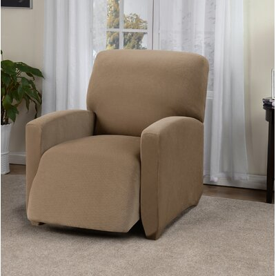 Day Break Box Cushion Recliner Slipcover Upholstery: Beige