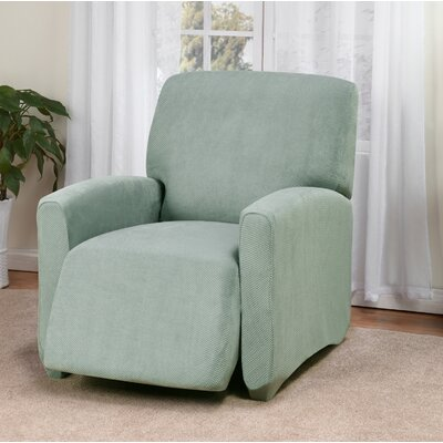 Day Break Box Cushion Recliner Slipcover Upholstery: Seaglass