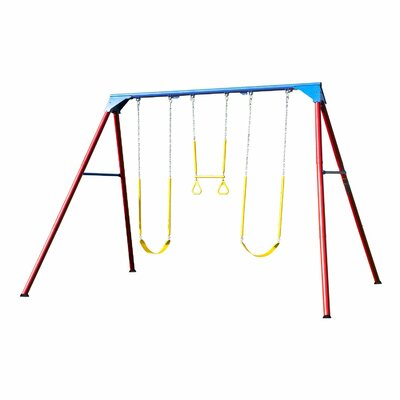 A-Frame Swing Set Color: Primary 90200