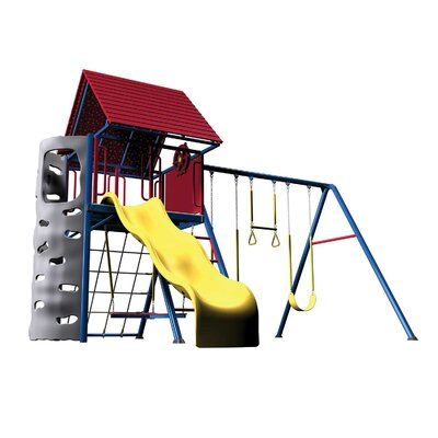 Primary Heavy Duty Metal Swing Set 90137