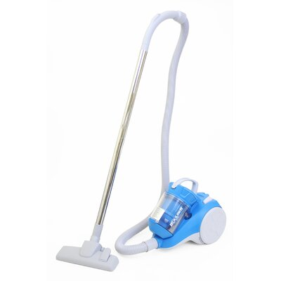 0.5L Bagless Canister Vacuum Cleaner with Cyclone Technology Color: Blue VC1115-1