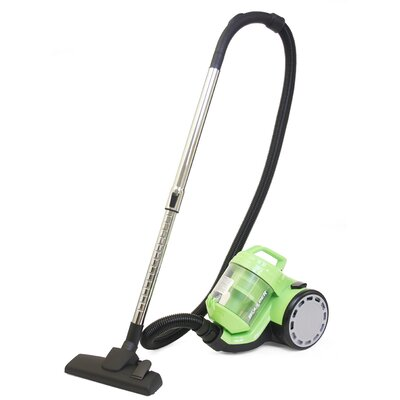 Image of 1.5L Bagless Canister Vacuum Cleaner with Cyclone Technology Color: Green