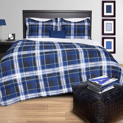 Plaid Bed in a Bag Set Size: Queen