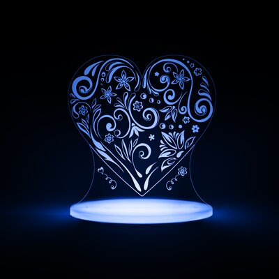 Heart LED Night Light