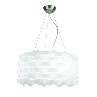 Armini 3-Light Drum Pendant