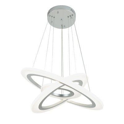 Orbit 3-Light Geometric Pendant