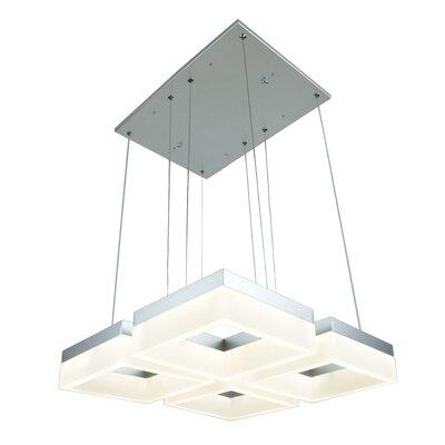 Atziri 4-Light Geometric Pendant