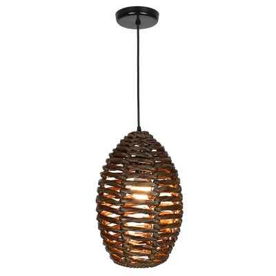 Ana 1-Light Mini Pendant Size: 15 H x 11 W x 11 D