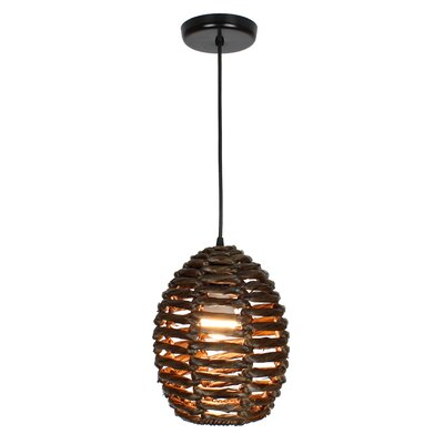 Ana 1-Light Mini Pendant Size: 11 H x 9 W x 9 D
