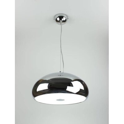 Mango 3-Light Inverted Pendant Finish: Chrome
