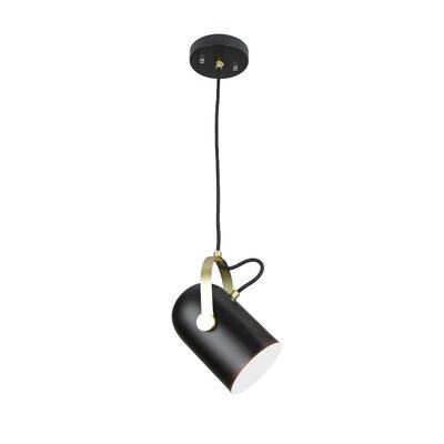 Damien Industrial Theatrical 1-Light LED Mini Pendant