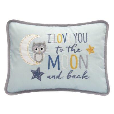 Night Owl 100% Cotton Lumbar Pillow