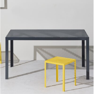 Howard Series Dining Table Finish: Matte Denim, Table Size: 90 L x 29 W