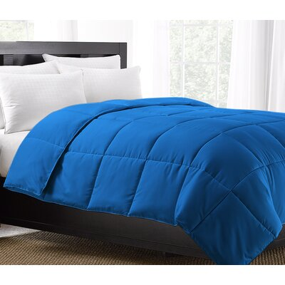 Exquisite Hotel Comforter Size: Twin, Color: Blue