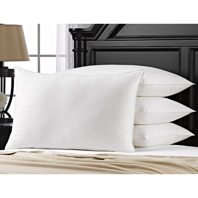 Exquisite Hotel Gel Fiber Pillow Size: Standard