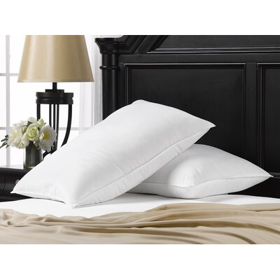 Exquisite Hotel Memory Foam Fiber Pillow Size: King