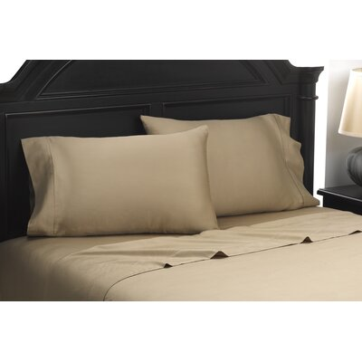 Exquisite Hotel 600 Thread Count 100% Cotton Sheet Set Size: Queen, Color: Taupe