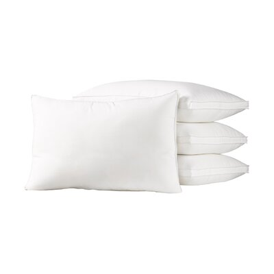 Calvino Gusseted Polyester Medium Density Pillow Size: King