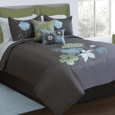 Brittany 6 Piece Comforter Set Size: Queen