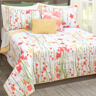 Adalia 3 Piece Quilt Set Size: Queen