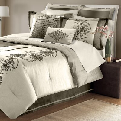 Cary 8 Piece Comforter Set Size: King