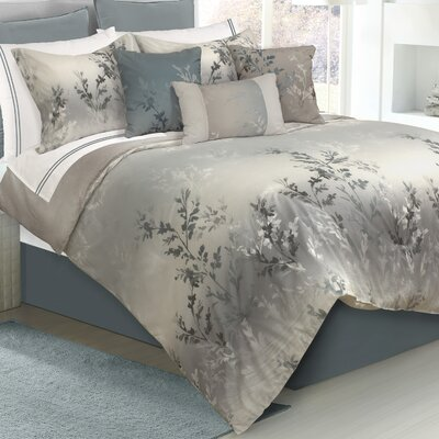 Casey 7 Piece Comforter Set Size: King