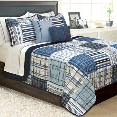 Kennebec 3 Piece Quilt Set Size: Queen