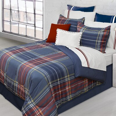 Hudson Plaid 2 Piece Comforter Set