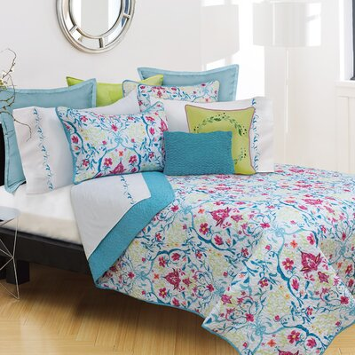 Printemps 3 Piece Quilt Set Size: King