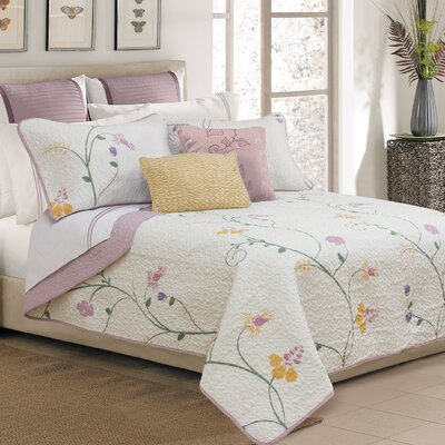 Seranade 3 Piece Quilt Set Size: Queen