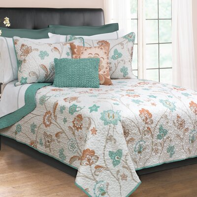 Allenport 3 Piece Quilt Set Size: King