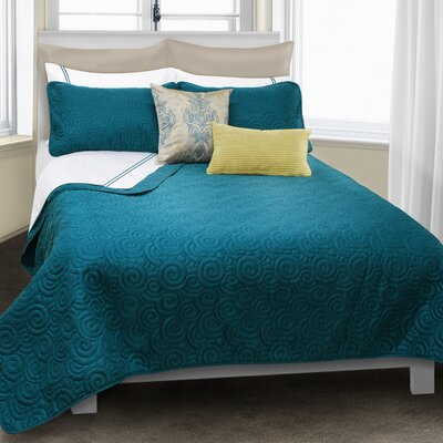 Serenity 3 Piece Quilt Set Size: King